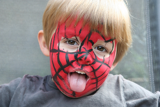 Spiderman by Maggie Hegarty