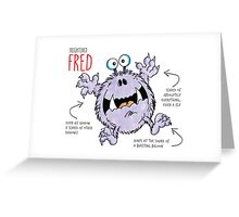 Descriptive Fred! Greeting Card