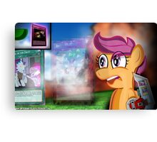 The Dueling Chicken - My Little Pony Canvas Print