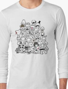 BattleBlock Theater Circle Heads Long Sleeve T-Shirt