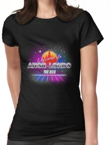 Anor Londo Vice Womens Fitted T-Shirt