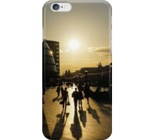 London Silhouettes  iPhone Case/Skin