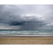 storm on the horizon Photographic Print