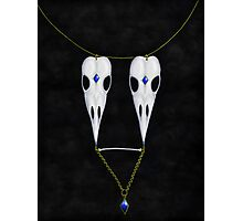 Birdskull Necklace Photographic Print