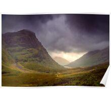 Glencoe Storm Poster