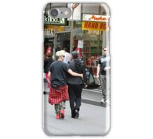 Saturday morning shoppers in Melbourne iPhone Case/Skin