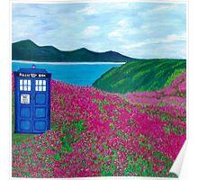 TARDIS: Flower Stop Poster