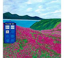 TARDIS: Flower Stop Photographic Print
