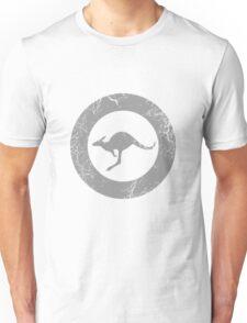 Military Roundels-RAAF Low Visibility Unisex T-Shirt