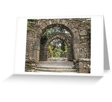 Gateway to Glendalough  (Wicklow - Ireland) Greeting Card