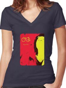 Original Ch**k Women's Fitted V-Neck T-Shirt