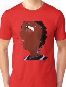 Tribal femininity  Unisex T-Shirt