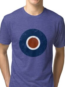 Military Roundels - Royal Air Force - RAF Type C Tri-blend T-Shirt