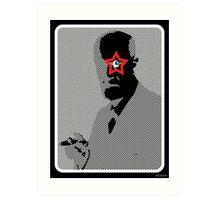 Freud Rocks! Art Print