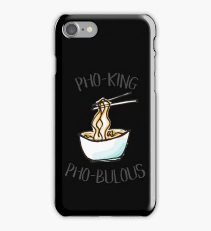 For the Love of Pho iPhone Case/Skin