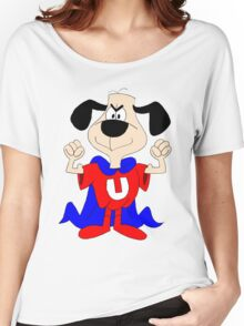 dog super hero Women's Relaxed Fit T-Shirt