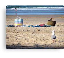 beach snap 10 Canvas Print