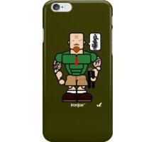 AFR Superheroes #04 - Iron Joe iPhone Case/Skin