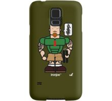 AFR Superheroes #04 - Iron Joe Samsung Galaxy Case/Skin