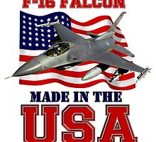 F-16 Falcon Made in the USA by Mil Merchant
