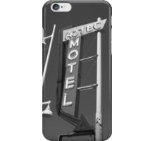 Route 66 - Aztec Motel iPhone Case/Skin