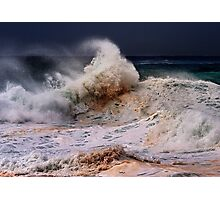 Winter Waves At Pipeline 18 Photographic Print