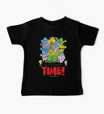 Descriptive Monster Party time! Baby Tee