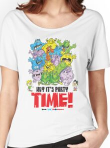 Descriptive Monster Party time! Women's Relaxed Fit T-Shirt