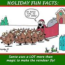 REINDEER MAGIC by JonsCrazyShirts