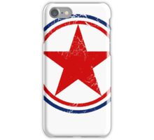 Military Roundels - Korean Peoples Army Airforce iPhone Case/Skin
