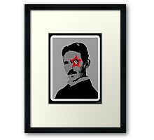 Tesla Rocks! Framed Print
