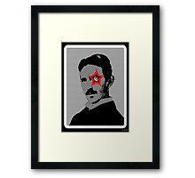 Tesla Rocks! Framed Print