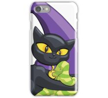 Chloe The Cat - In The Tights Spot iPhone Case/Skin