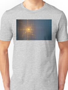 .Sunset Window Tile. Unisex T-Shirt