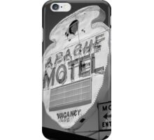 Route 66 - Apache Motel iPhone Case/Skin