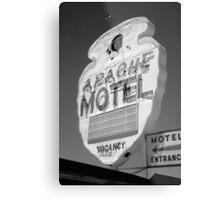 Route 66 - Apache Motel Metal Print