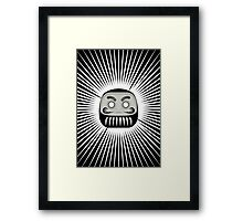 The Daruma Framed Print