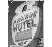 Route 66 - Apache Motel iPad Case/Skin