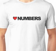 Love Numbers Unisex T-Shirt