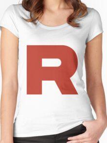 TEAM ROCKET POKEMON Women's Fitted Scoop T-Shirt