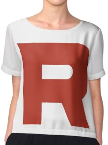 TEAM ROCKET POKEMON Chiffon Top