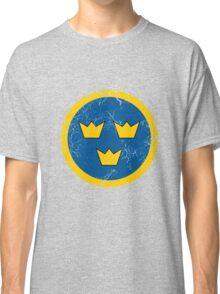 Military Roundels - Flygvapnet Swedish Air Force Classic T-Shirt