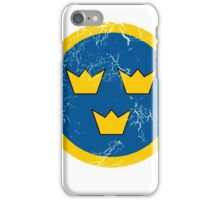 Military Roundels - Flygvapnet Swedish Air Force iPhone Case/Skin