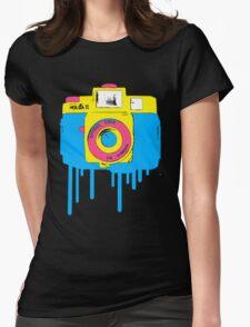 Light Leak Womens Fitted T-Shirt