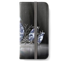 Fantasy Forest Crown - Blue iPhone Wallet/Case/Skin