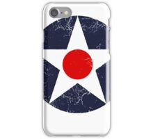 Military Roundels - United States Army Aviation Corps - USAAC iPhone Case/Skin