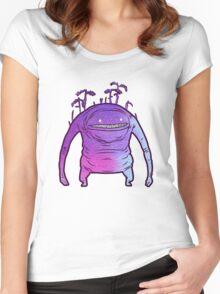 Pastel Goobbue Women's Fitted Scoop T-Shirt