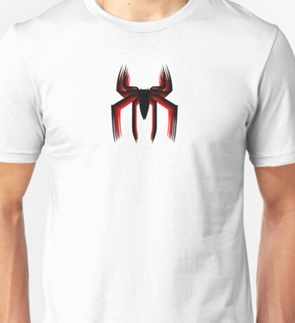 3d spiderman logo Unisex T-Shirt