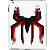 3d spiderman logo iPad Case/Skin