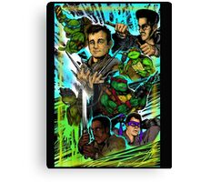 Teenage Mutant Ninja Turtles/Ghostbusters Canvas Print